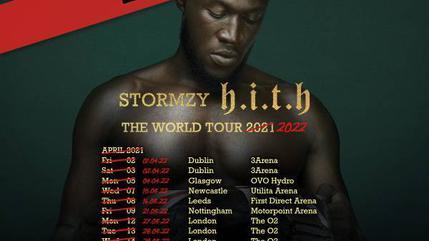 Concierto de Stormzy en Londres 28 Mar | HITH The World Tour