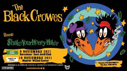 The Black Crowes concert à Madrid