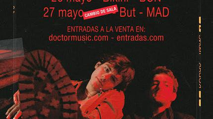 Concierto de The Driver Era en Barcelona