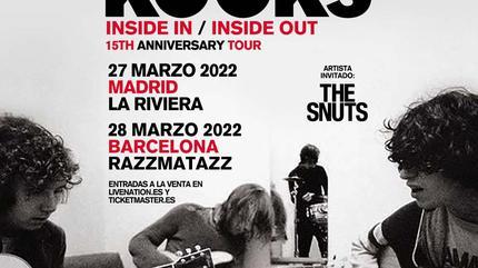 Concierto de The Kooks en Barcelona - 28 de marzo