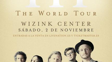 The Lumineers concert in Madrid