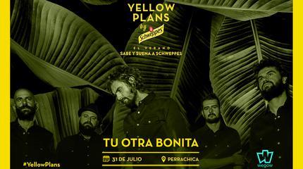Concierto de Tu Otra Bonita en Yellow Plans by Schweppes 2019
