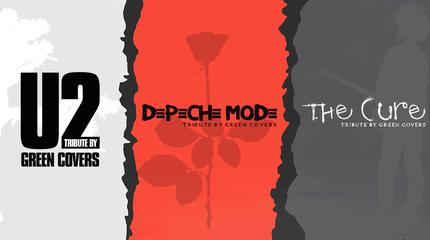 Concierto de U2, Depeche Mode & The Cure by Green Covers en Logroño