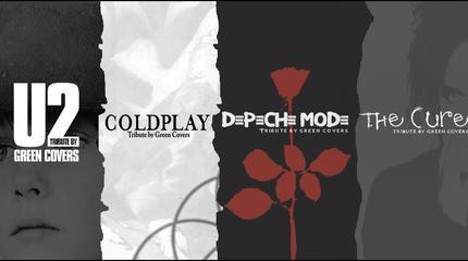 Concierto de U2, Depeche Mode, The Cure & Coldplay by Green Covers en Vigo