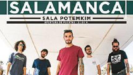Concierto de Valira en Salamanca