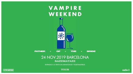 Konzert von Vampire Weekend in Barcelona