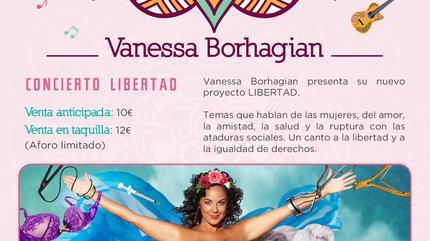 Concierto de Vanessa Borhagian en Madrid