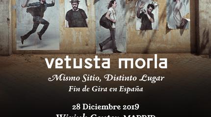 Concierto de Vetusta Morla en Madrid (Fin de Gira: Mismo Sitio, Distinto Lugar)