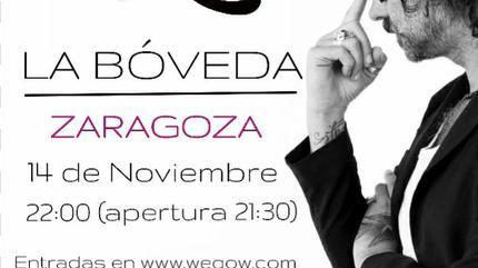 Concierto de Vikxie en acústico en Zaragoza