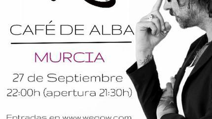 Concierto de Vikxie en acústico Murcia