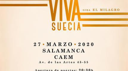 Viva Suecia concert in Salamanca