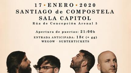 Concierto de Viva Suecia en Santiago de Compostela