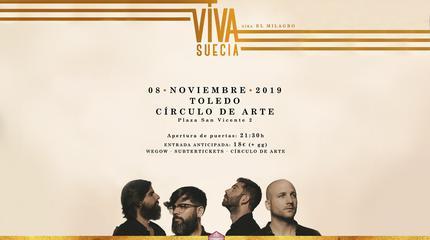 Concierto de Viva Suecia en Toledo (2ª fecha)