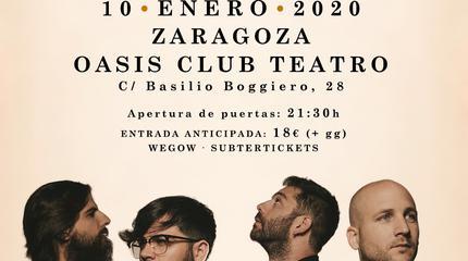 Concierto de Viva Suecia en Zaragoza