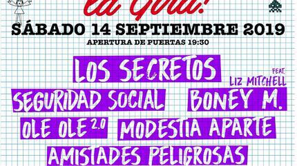 Yo Fui a EGB concert in Sevilla