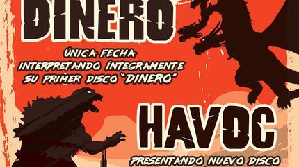 CONCIERTO DINERO + HAVOC MADRID VERSUS ROUND 1