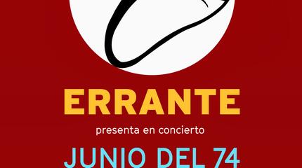 Concierto Lagarto Errante en Madrid
