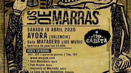 Concierto Los de Marras en la Sala  Matadero ( Ayora)