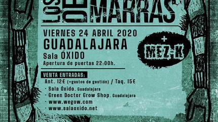 Concierto Los de Marras en la Sala Oxido - Guadalajara