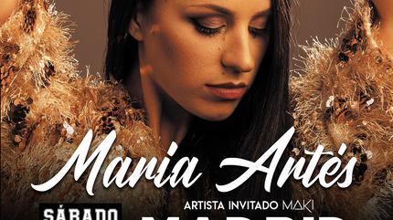 CONCIERTO MARÍA ARTÉS EN MADRID (NUEVA FECHA 13 NOVIEMBRE 2021)