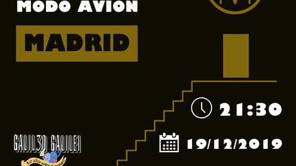 Concierto Modo Avión en Madrid