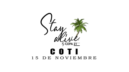 COTI STAY ALIVE® By CEPA21   VALLADOLID