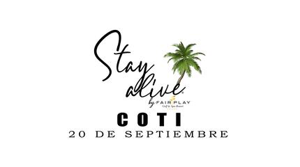 COTI STAY ALIVE® By FAIRPLAY   CÁDIZ
