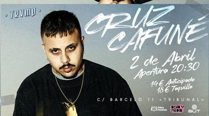 Cruz Cafuné concert in Madrid