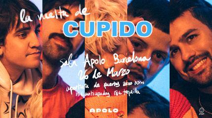 Cupido vuelve a la Sala Apolo (Barcelona)