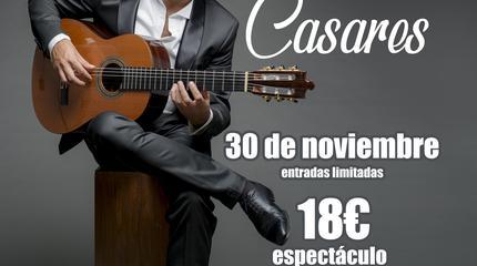 Daniel Casares en Hotel Utopia. 30 de Noviembre