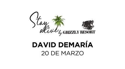 David DeMaría STAY ALIVE® By Grizzly Resort | Velilla del Río Carrión (Palencia)