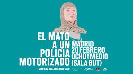 Él Mató a un Policía Motorizado en Madrid (Ochoymedio)