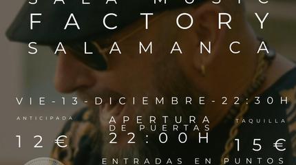 El Suso en Sala Music Factory de Salamanca