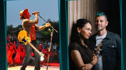 Konzert von Ben Harper + Rodrigo y Gabriela + Ben Harper & The Innocent Criminals in Nîmes