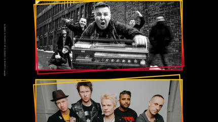 Konzert von Sum 41 + Dropkick Murphys in Nîmes