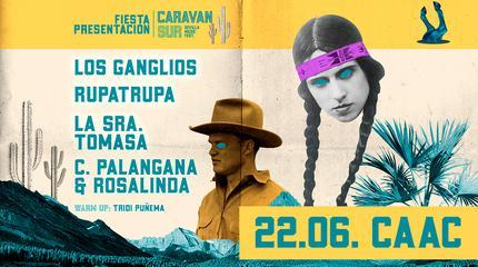 Fiesta Presentación CARAVAN SUR FESTIVAL