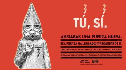 FUERZA NUEVA (LOS PLANETAS + NIÑO DE ELCHE) en Madrid