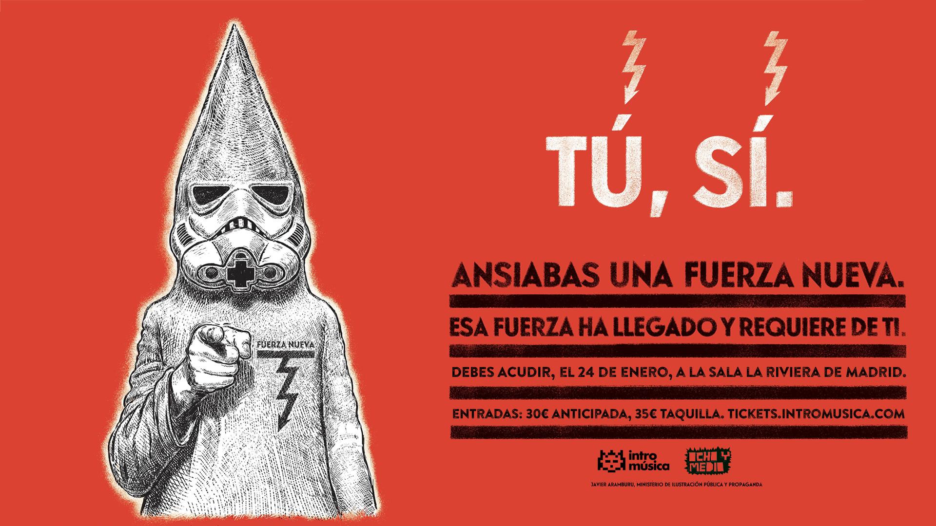 Los Planetas + Niño de Elche + Fuerza Nueva concert in Madrid