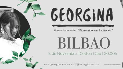 GEORGINA en CONCIERTO en BILBAO