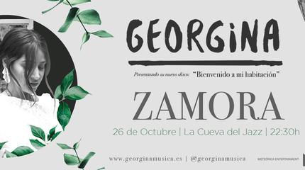 GEORGINA en CONCIERTO en ZAMORA