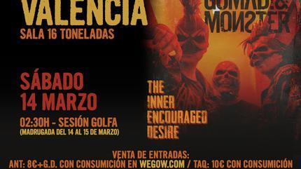Gomad! & Monster en Valencia (Sesión Golfa)