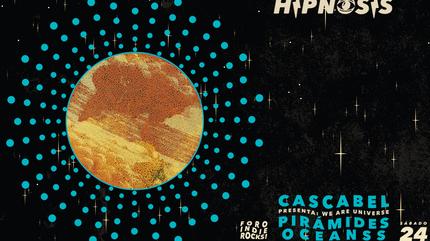 "Noche Hipnosis: Cascabel presenta ""We are universe"""