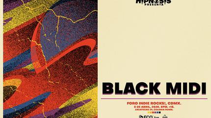 Hipnosis presenta: Concierto de Black Midi en Indie Rocks!