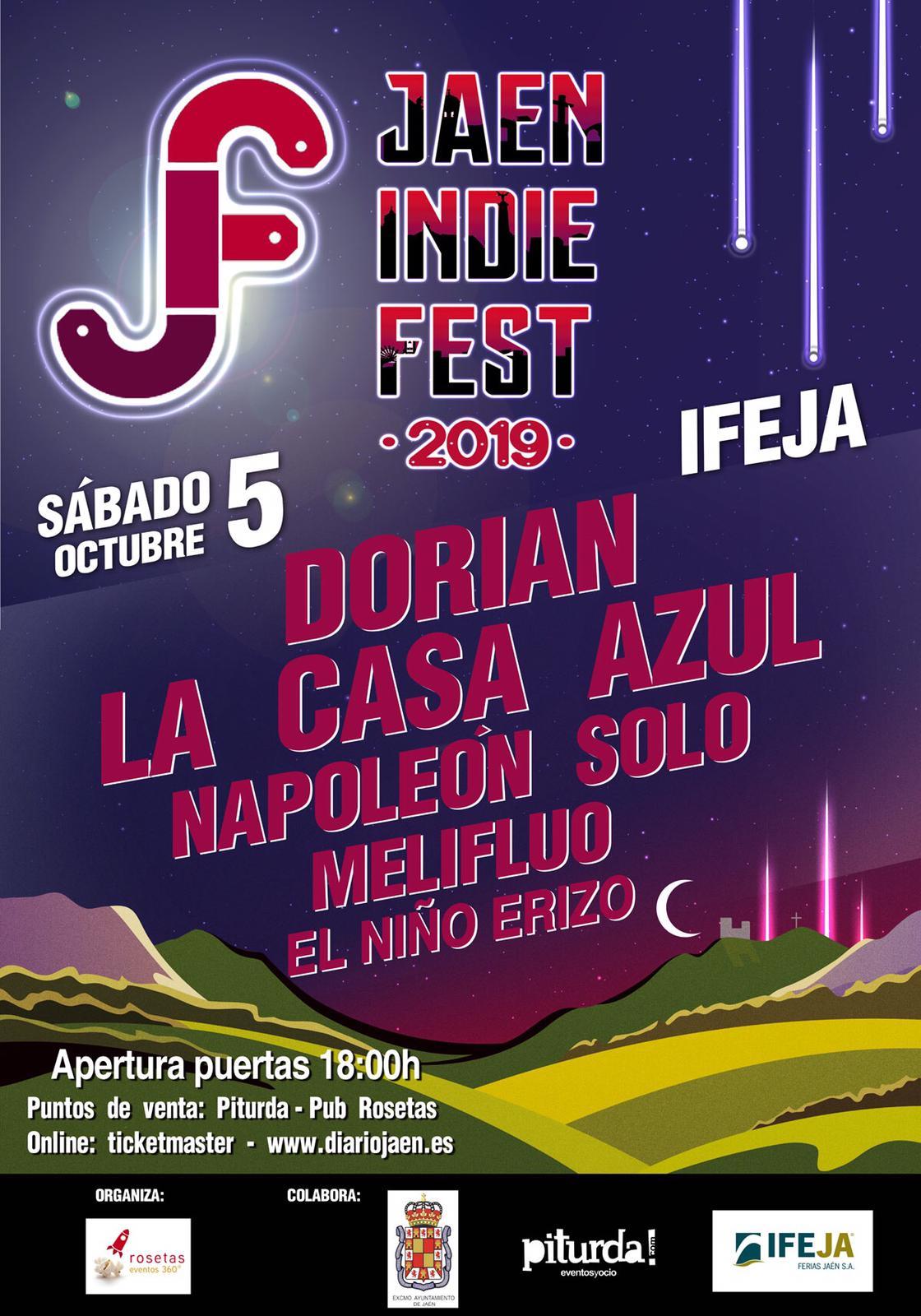 Resultado de imagen de jaen indie fest 2019
