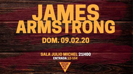 James Armstrong concert in Segovia