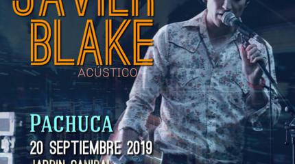 Javier Blake acústico en Pachuca