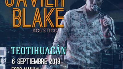 Javier Blake acústico en Teotihuacán