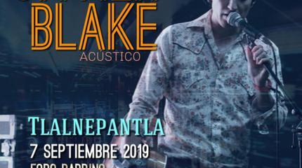 Javier Blake acústico en Tlalnepantla