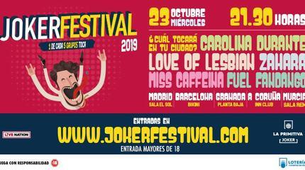 Joker Festival Barcelona 2019
