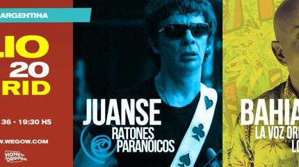 Juanse + Bahiano Madrid